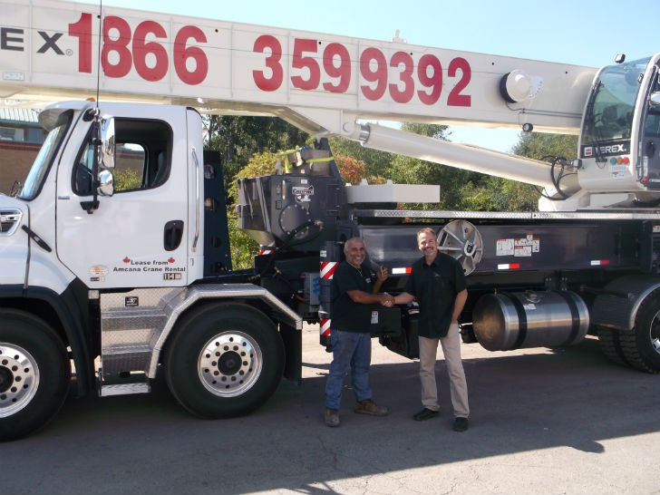 CP Crane Takes Delivery of First Terex Crossover 8000 Boom Truck in Canada