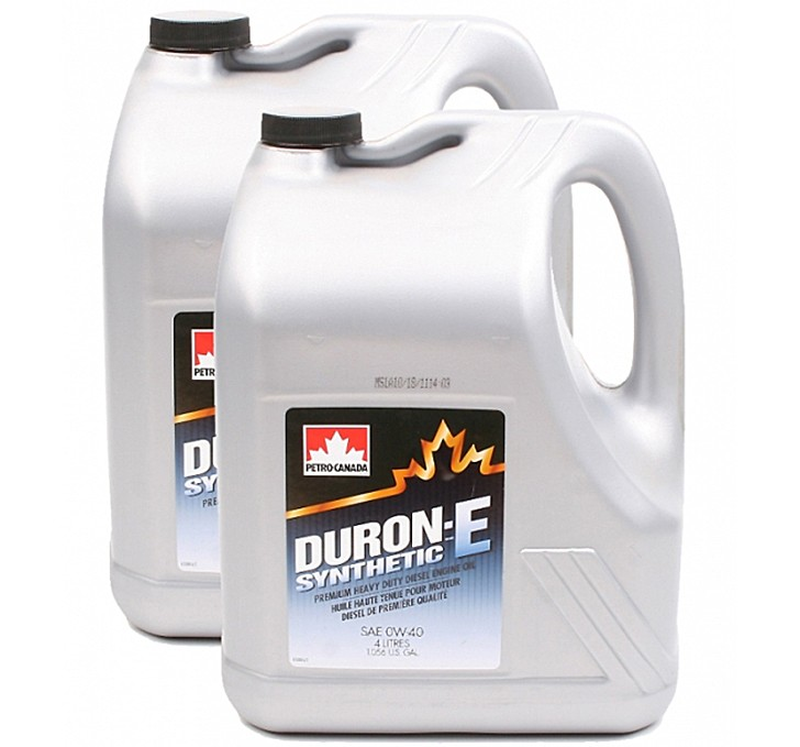Petro-Canada Lubricants - DURON-E Synthetic 0W-40 Lubricants