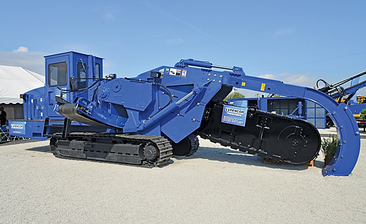 American Augers - T1060 Trenchers