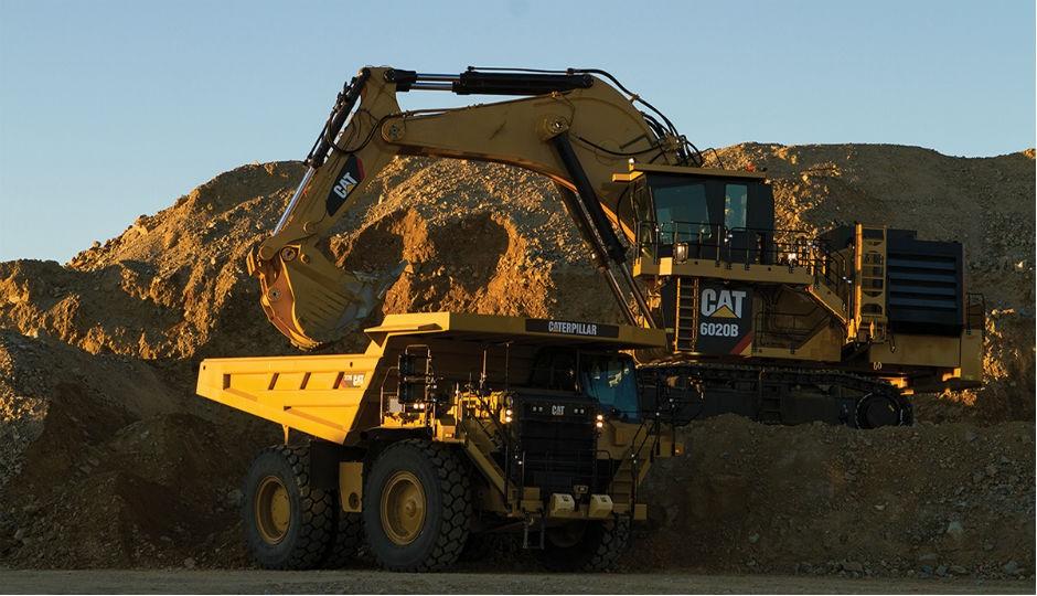 Cat 6020B Hydraulic Mining Shovel