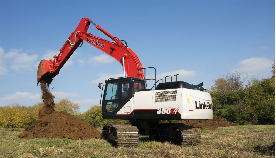 300x4  hydraulic excavator
