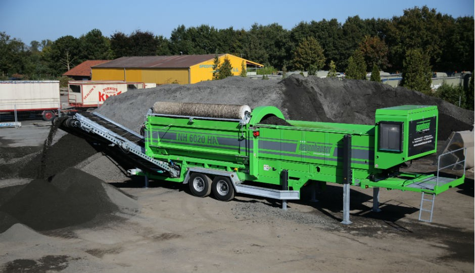 Neuenhauser North American to launch New NH6020 trommel at 2015 US Composting Council Show