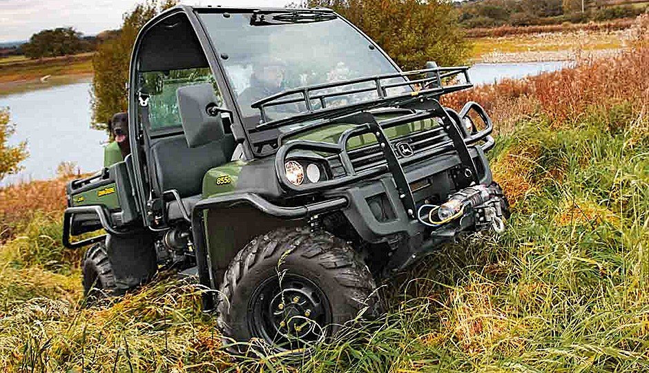 John Deere Construction & Forestry - XUV 855D Utility Vehicles