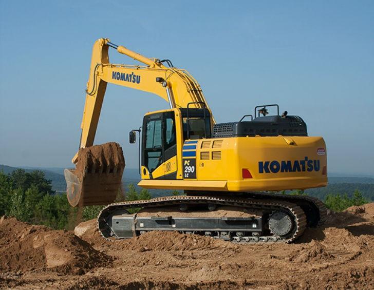Komatsu America Corp  Launches the New PC290LC-11 Hydraulic