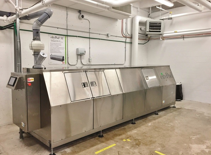 CityPod composter installed at B.C.'s largest university