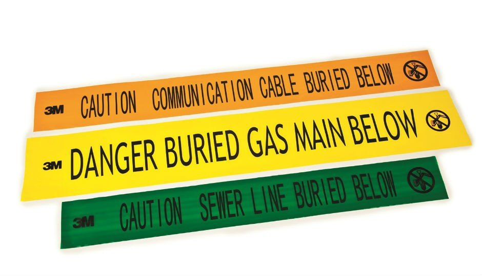 New Electronic Marking System Caution Tape