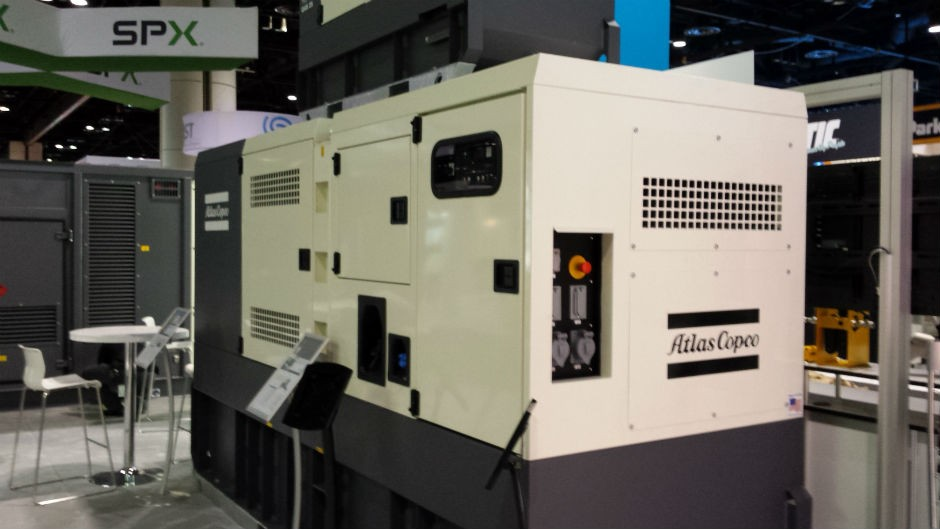 Atlas Copco previewed new Tier 4 Final generator at POWER
