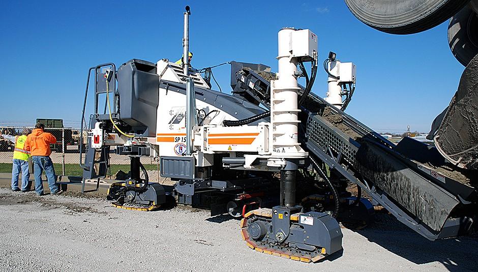 Wirtgen America, Inc. - SP 15 Concrete Pavers