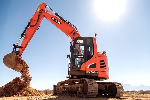Doosan Infracore North America LLC - DX140LCR-5 Excavators
