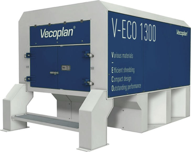 Vecoplan Introduces V-ECO Shredders