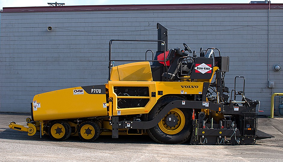 Volvo Construction Equipment - P7170 Asphalt Pavers