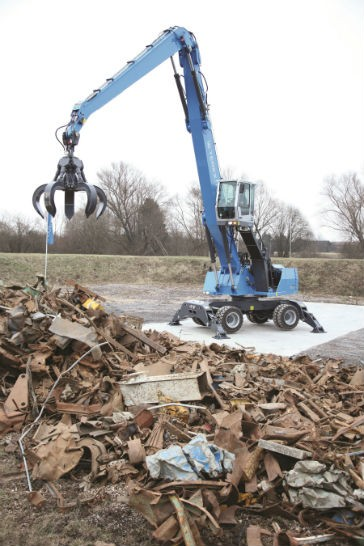 Terex Fuchs Launches New Telematics System for Material Handlers to Help Reduce Cost of Ownership