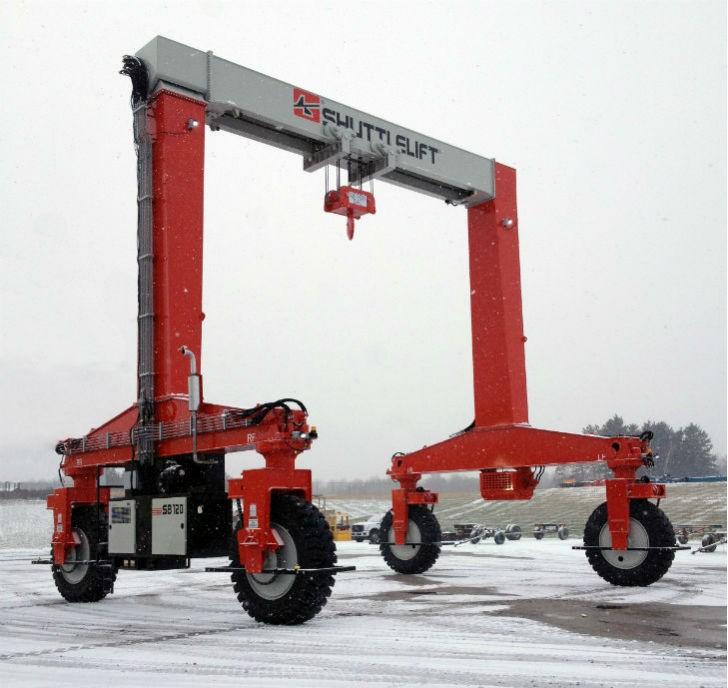 Shuttlelift Announces Introduction of New SB 120 Single-Beam Mobile Gantry Crane