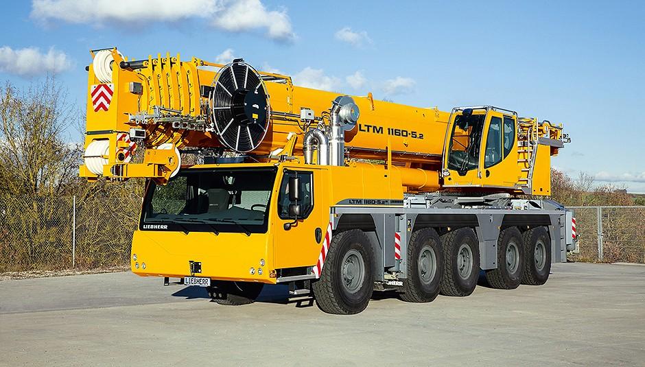 Liebherr Canada - LTM 1160-5.2 Mobile Cranes