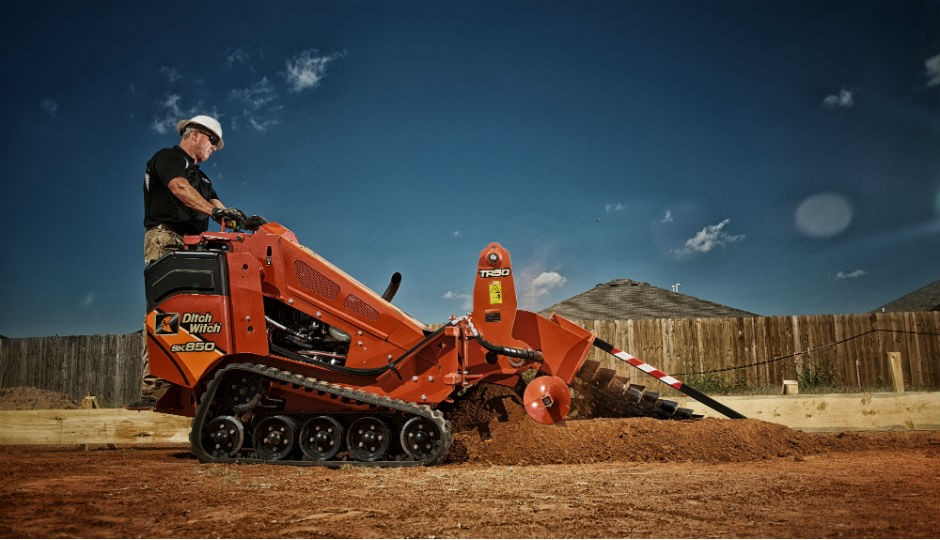 New Ditch Witch SK850 Footings Machine