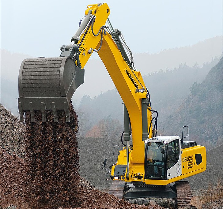 Liebherr Canada - R 956 Excavators