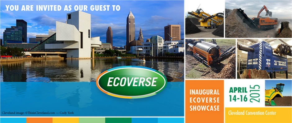 Ecoverse to Host Equipment and Solutions Showcase in Cleveland On April 14-16.