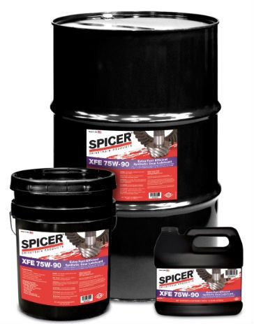 New Spicer XFE 75W-90 Drive Axle Lubricant Offers Further Improvements in Fuel Efficiency