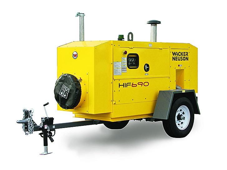 Wacker Neuson USA - HIF 690 Portable Heaters