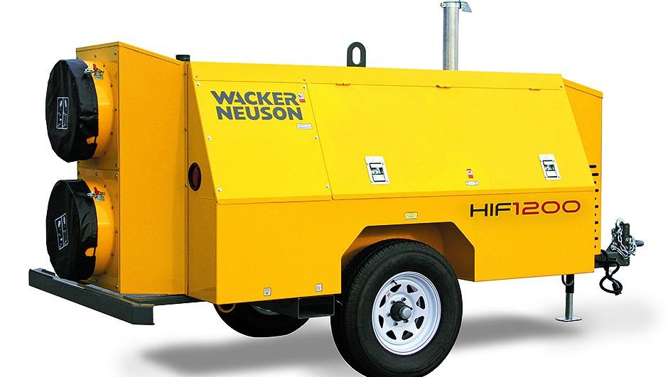 Wacker Neuson USA - HIF 1200 Portable Heaters