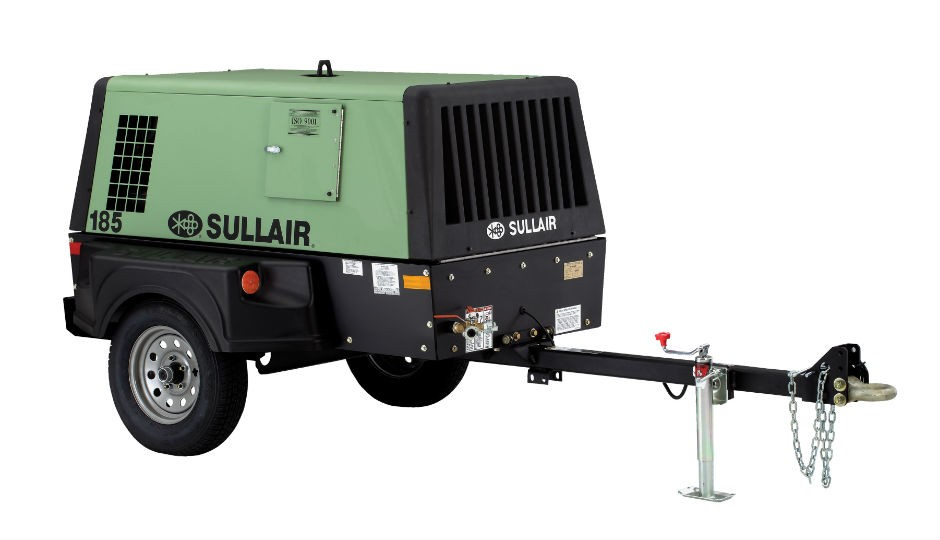Sullair Introduces Tier-4 Final 185 Portable Air Compressor
