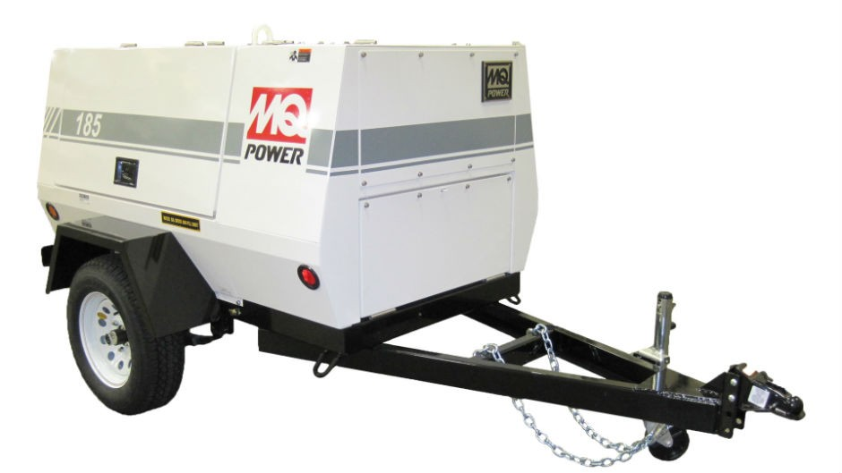MQ Power 185 CFM air compressor
