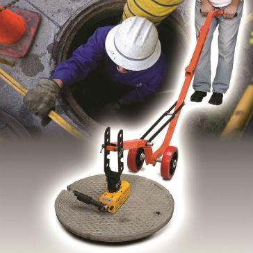 Magnetic Manhole Lid Lifter