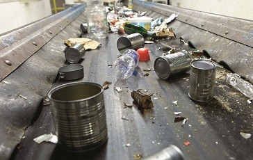 Aluminum Cans Contain More Recycled Content