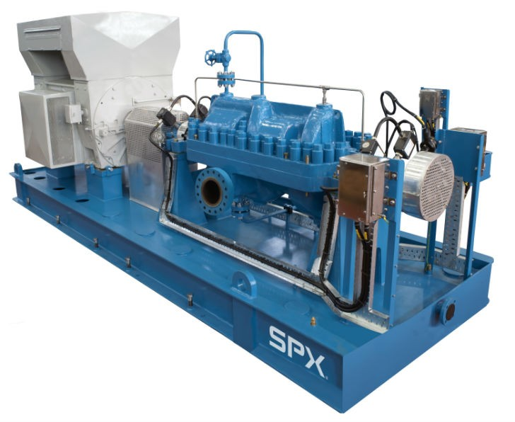Delivering SPX ClydeUnion API BB3 Multi-Stage Pumps at a Market-Leading Pace