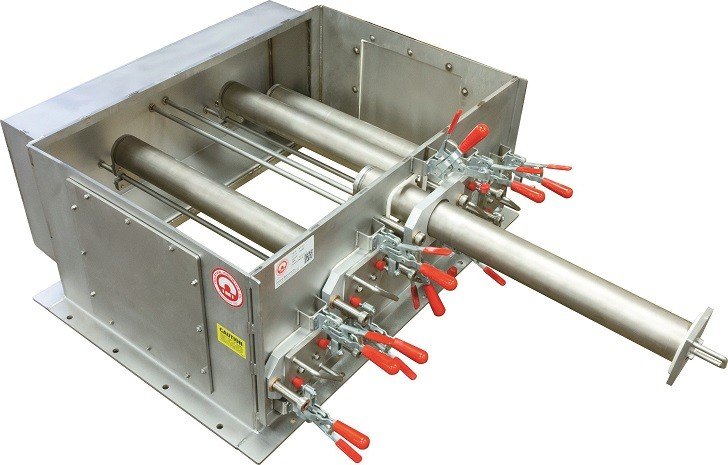 Industrial Magnetics Repurposes Large Tube Drawer Magnet for Recycling Application