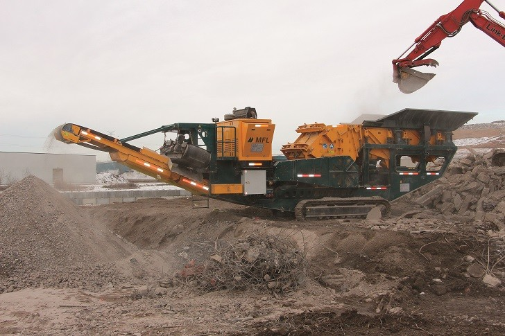 Mobile impact crusher key in efforts to meet new Alberta chip standards for road surfaces