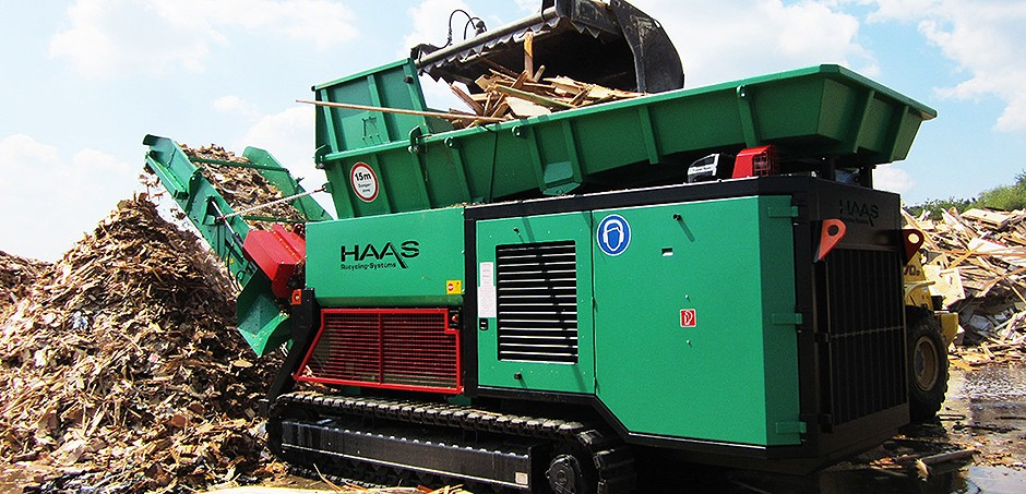 HAAS Recycling Systems - HAAS TYRON Shredders