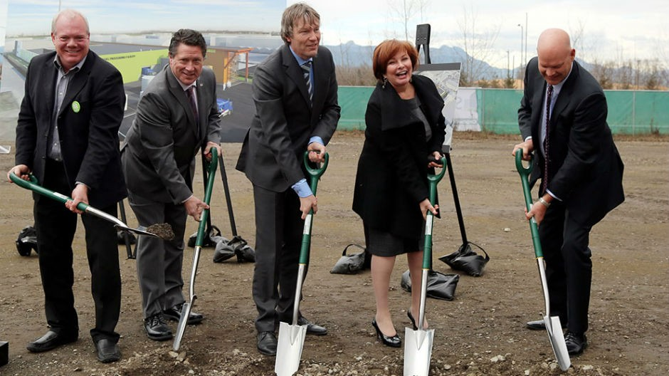 Groundbreaking Ceremony Held in Surrey for North America's First Close-Loop Waste Management System