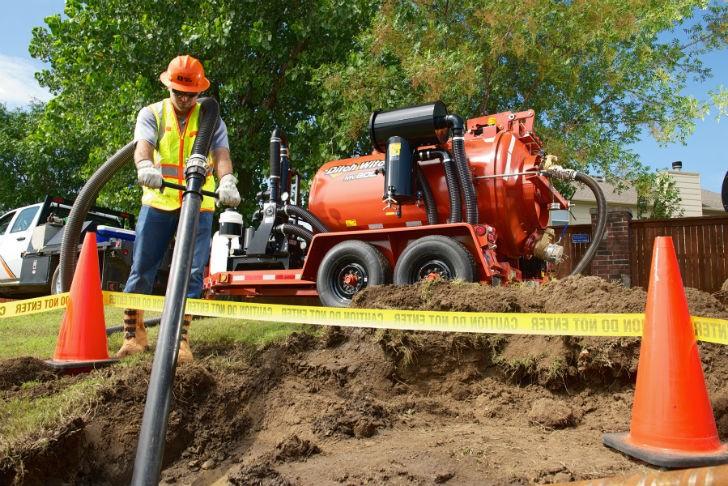 Ditch Witch  Introduces MV800 Vacuum Excavator