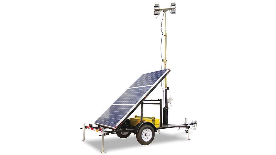 Atlas Copco - QLTS Solar LED Light Towers