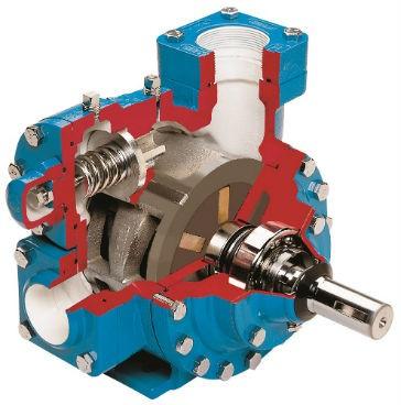 Four-Inch Sliding Vane Pump
