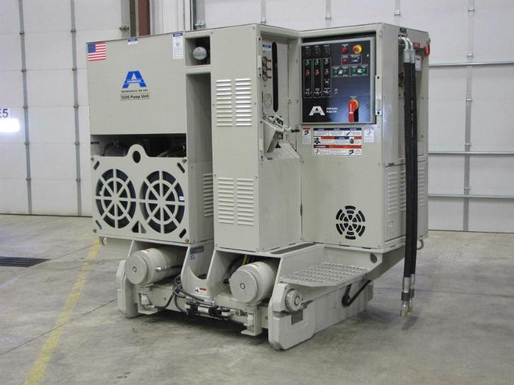 Akkerman-pipe jacking tunnel boring system 5200 pump unit