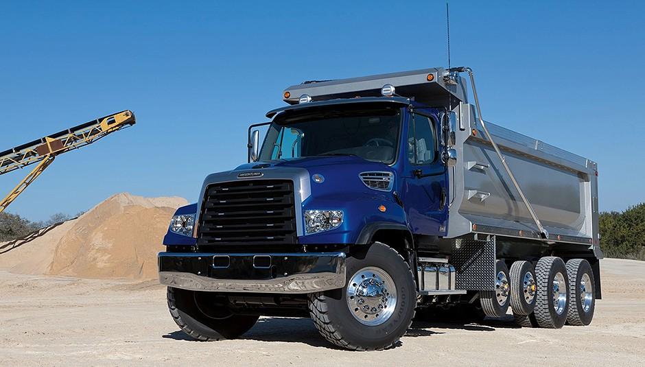 Freightliner Trucks - 114SD Natural Gas Vocational Trucks
