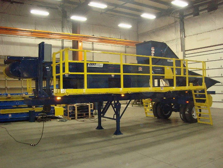REM introduces trailer-mounted portable sort system