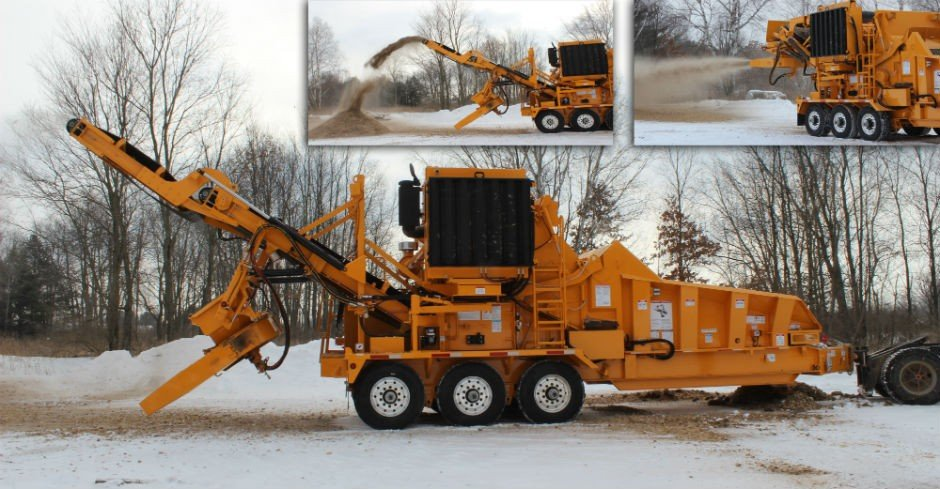 30-foot discharge and thrower option available for Beast XP-Series Recyclers