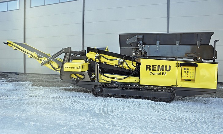 REMU Combi E8 Mobile Screens