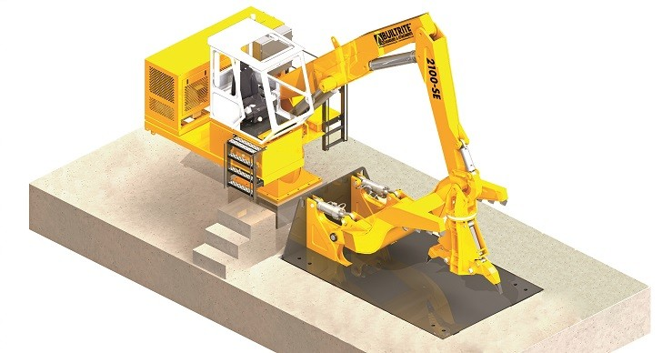 Stationary Electric Handler Combined With Auto Dismantling System