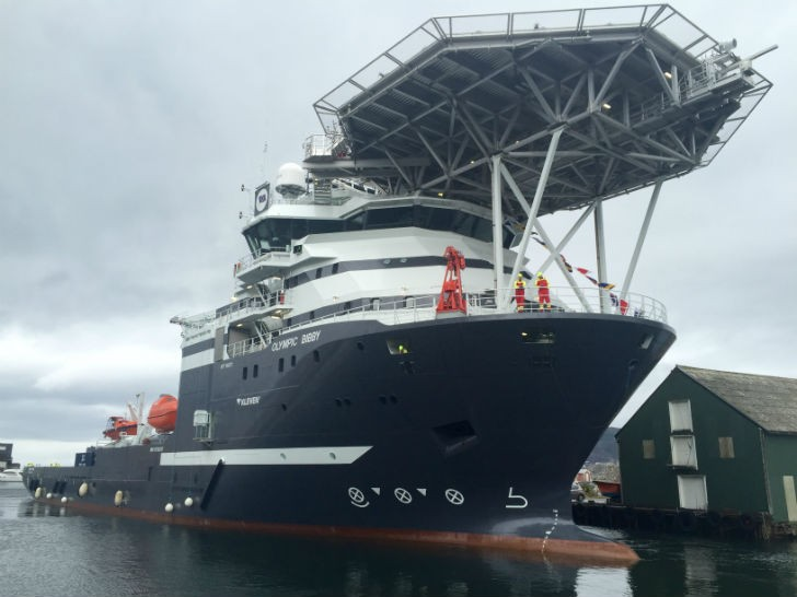 Olympic Bibby Officially Christened At Ceremony in Norway