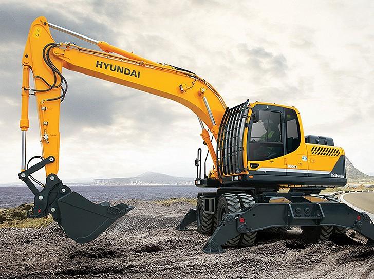 Hyundai Construction Equipment Americas Inc. - R180W-9A Wheel Loaders