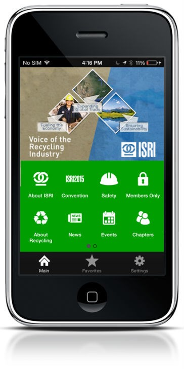 ISRI Launches Mobile App for Members, Recycling Stakeholders to Engage, Network, and Advocate