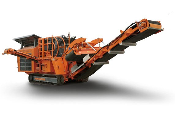 Rockster North America Inc. - R700S Track Mounted Impact Crushers