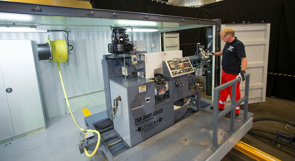 Trelleborg Launches Mobile Production Unit for Flexible Coating Applications
