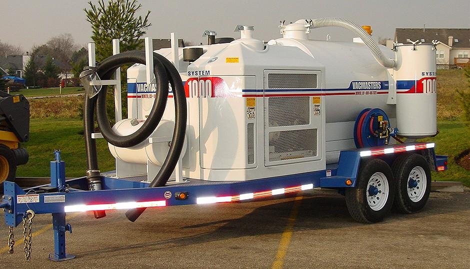 Vacmasters - SYSTEM 1000 Air-Vacuum Excavators
