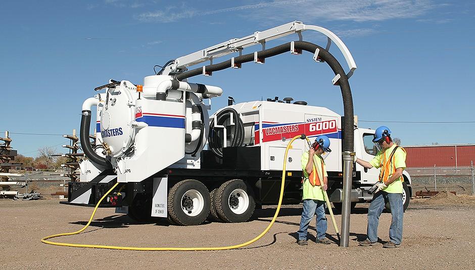 Vacmasters - SYSTEM 6000 Air-Vacuum Excavators