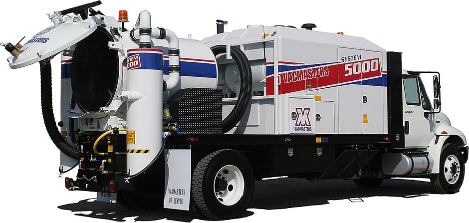 Vacmasters - SYSTEM 5000 Air-Vacuum Excavators